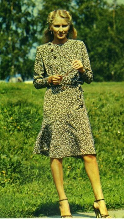 Женская мода 1980-х. Изображение № 1.
