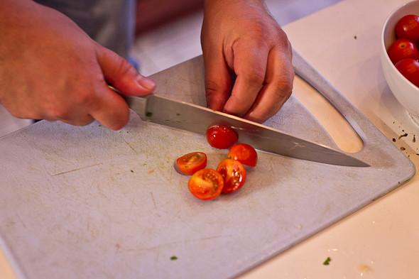 Овощное рагу, гаспачо, греческий салат: Настоящий осенний обед. Изображение № 40.