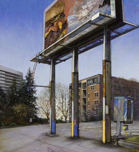 Кристофер Хофф. Рисует эти странные улицы. Изображение № 8.