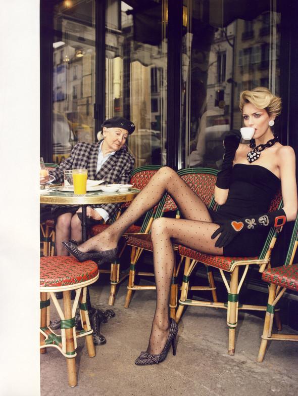 """""""TOUTES JAMBES"""" Vogue Paris JuneJuly 2009. Изображение № 2."""