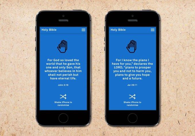 По Библии создано мобильное приложение. Изображение № 3.