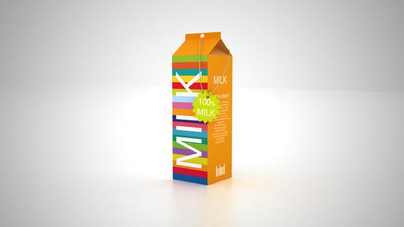 Новый дизайн упаковки молока плюс позиционирование. Изображение № 2.