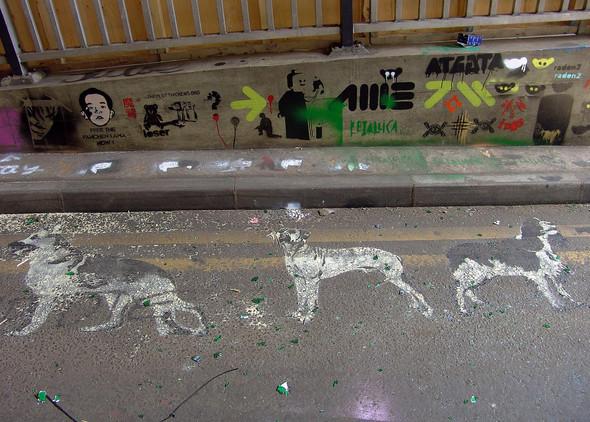 Стрит-арт в Лондоне. Изображение № 13.