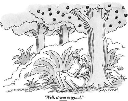 Facebook забанил страницу The New Yorker за неприличную карикатуру. Изображение № 1.