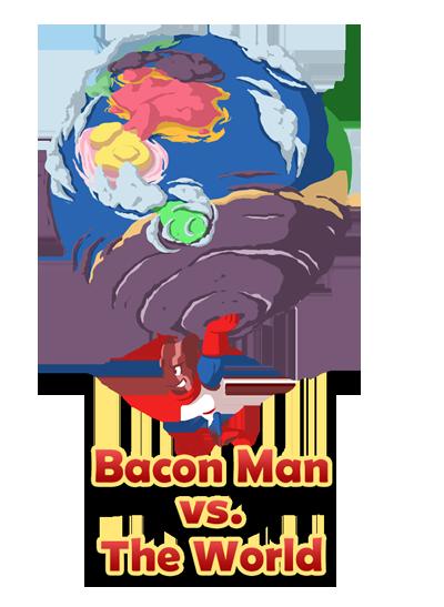 На Kickstarter просят денег на игру о Человеке-беконе. Изображение № 1.