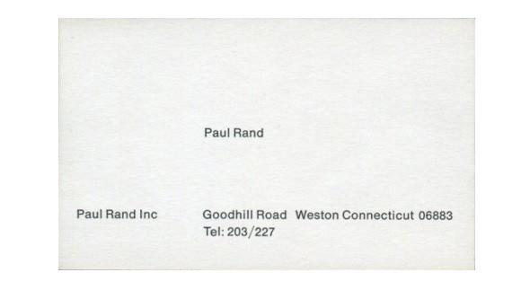 Paul Rand — дизайнер логотипов. Изображение № 33.