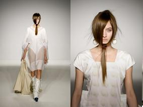 London Fashion Week. Hairlooks. Part 2. Изображение № 3.