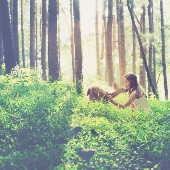 ЭМИЛИ ЛИ : девушка и олень. Изображение № 9.