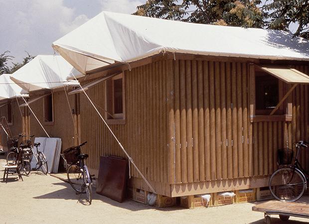 Временные бумажные дома в Турции, 2000 год. Изображение № 4.