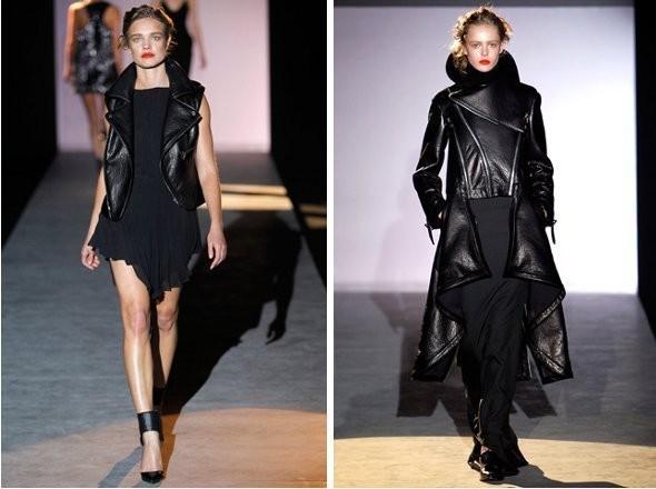 Изображение 1. Показы на Paris Fashion Week FW 2011: день 1.. Изображение № 2.