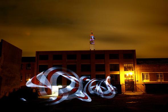 Да будет свет: 7 мастеров по световым граффити. Изображение № 62.