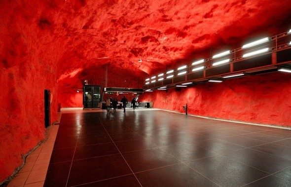 Шведский метрополитен. Изображение № 15.