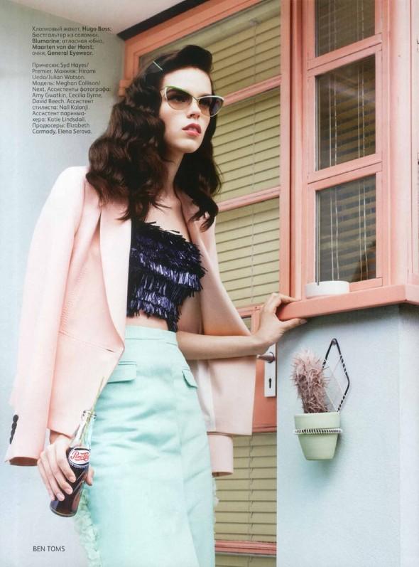 Съёмка: Меган Коллисон для российского Vogue. Изображение № 12.