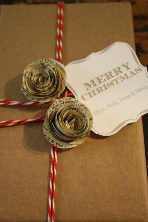 55 идей для упаковки новогодних подарков. Изображение № 27.