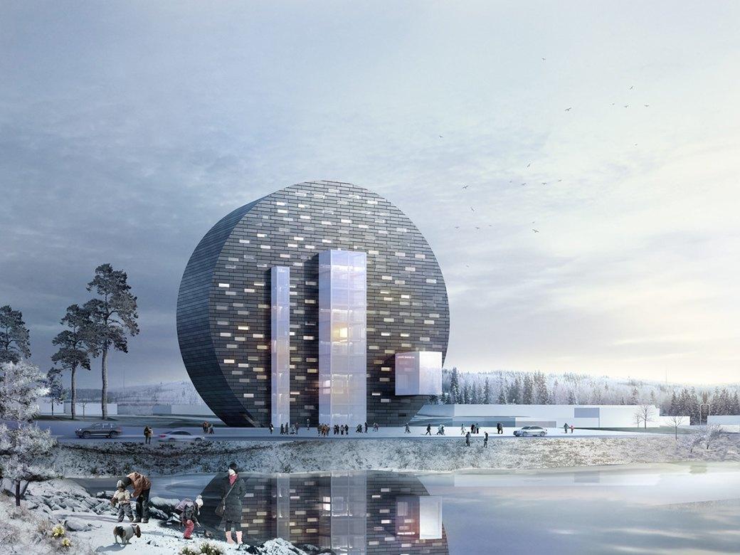 Проект ДНК-центра в Первоуральске. Архитектурное бюро Bernasconi. Изображение № 4.