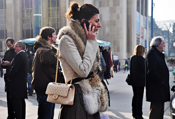 Луки с Недели моды в Париже. Изображение № 43.