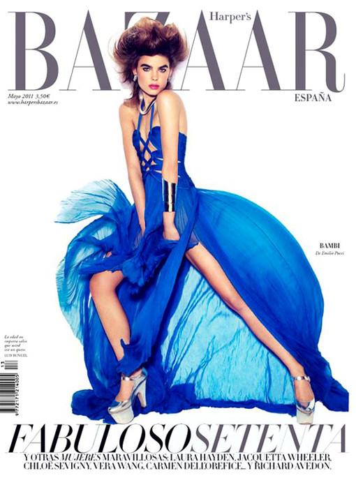 Изображение 2. Обложки: Elle, Harper's Bazaar и L'Officiel.. Изображение № 4.