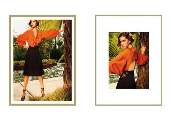 Изображение 6. Рекламные кампании: Yves Saint Laurent, Chanel и другие.. Изображение № 19.