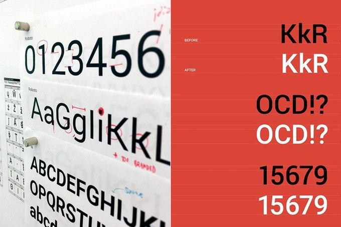 В Google представили обновлённый шрифт Roboto для всех продуктов . Изображение № 1.
