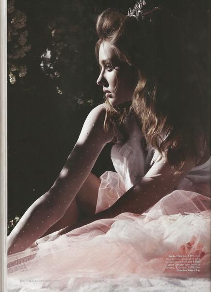 Miranda Kerr forHarpers Bazaar (December, 2009). Изображение № 3.