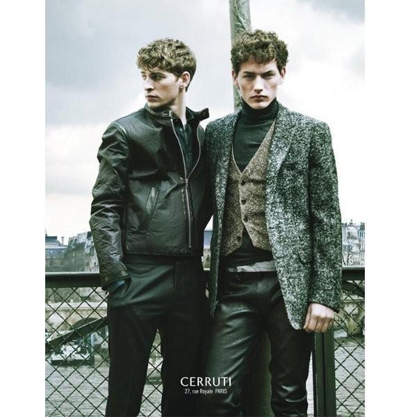 Изображение 15. Рекламные кампании: Cerruti, Lanvin и H&M.. Изображение № 3.