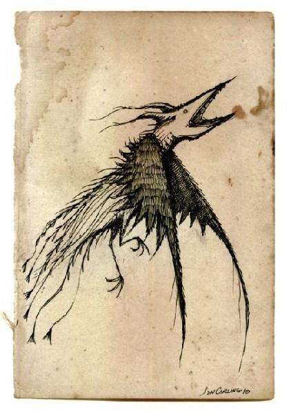 Jon Carling – мистерии в гелевой ручке. Изображение № 9.