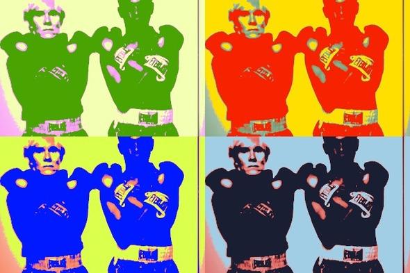 10 портретов Уорхола на веб-камеру . Изображение № 5.