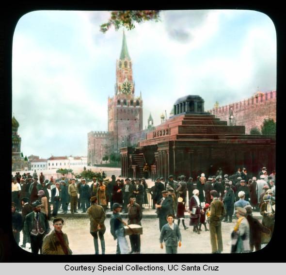 Изображение 5. Москва в цвете 1920-30х годов.. Изображение № 3.