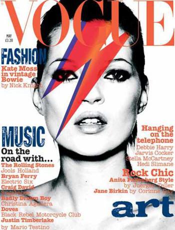 Кейт Мосс на обложках vogue. Изображение № 1.