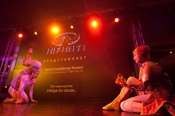 Cirque du Soleil на открытии дилерского центра INFINITI. Изображение № 12.