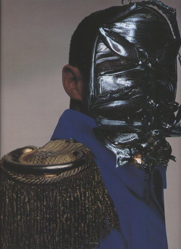 Архивная съёмка: Ник Найт для Arena Homme Plus, 1996. Изображение № 6.