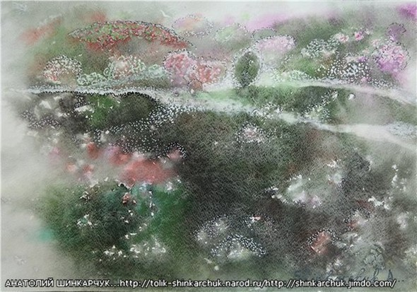 Shinkarchuk Anatoly watercolor and Japan Шинкарчук Анатолий акварель и Япония. Изображение № 7.