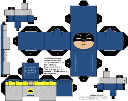 Cubeecraft бумажные герои своими руками — Look At Me — Посты — поток