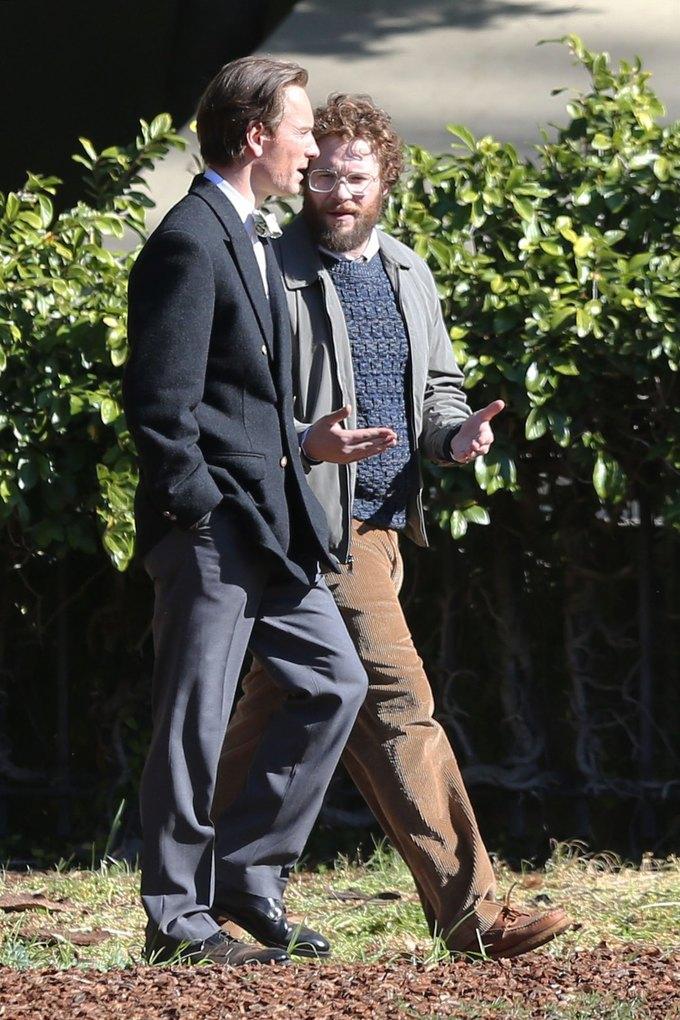Фото дня: Майкл Фассбендер в роли Стива Джобса. Изображение № 4.