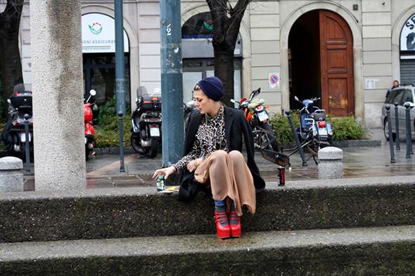 Изображение 41. City Looks: Милан и Париж.. Изображение № 42.