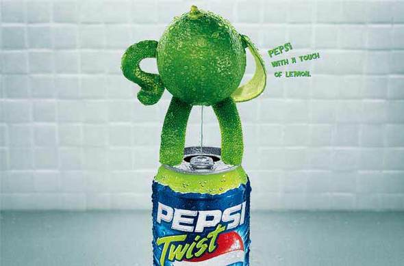 Alexandre Ermel. Реклама Pepsi Twist. Изображение № 3.