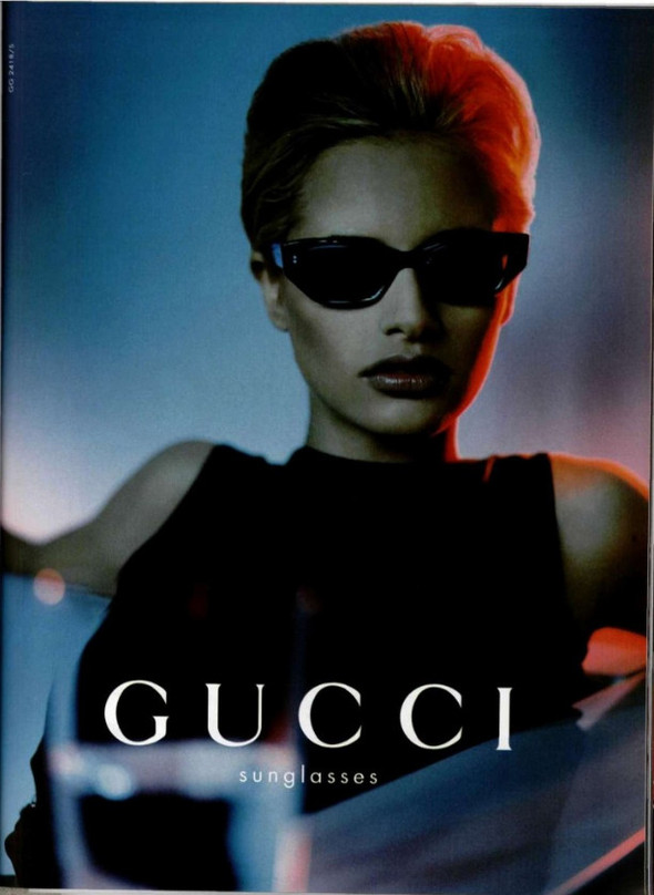 Архивная съёмка: Кампания Gucci SS 1998. Изображение № 1.