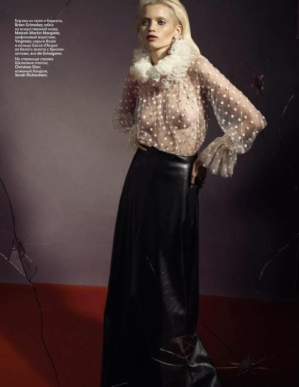 Съёмка: Эбби Ли Кершо для российского Vogue. Изображение № 7.