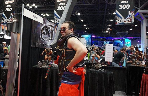Как прошёл гик-фестиваль NYC Comic-Con  в Нью-Йорке. Изображение № 28.