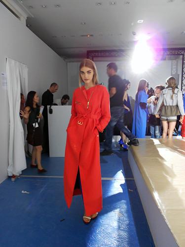 Фотографии перед показом для Style.com . Изображение № 6.