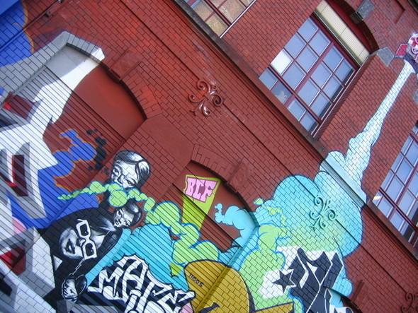 Изображение 3. Стрит-арт в Цюрихе.. Изображение № 3.