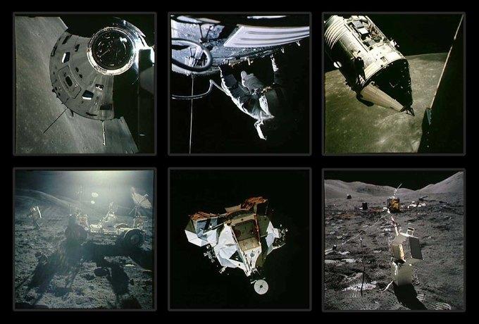 NASA выложили онлайн фотоисторию миссии «Аполло». Изображение № 2.