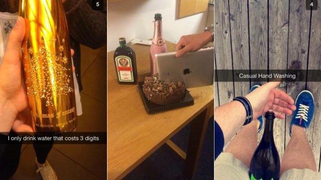 Что выкладывают в Snapchat богатые школьники. Изображение № 3.
