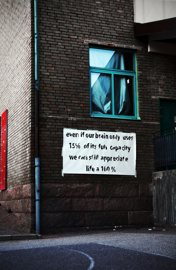 Уличные надписи Питера Дарта. Изображение № 3.