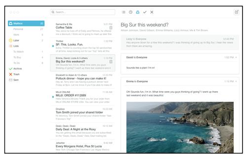 Почтовое приложение Mailbox вышло для Android. Изображение № 7.