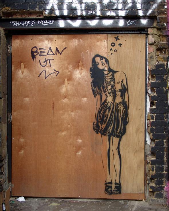 Стрит-арт в Лондоне. Изображение № 45.