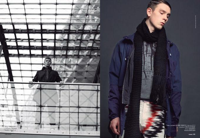 Вышли новые мужские съемки из Citizen K, Fashionisto, Vogue и других журналов. Изображение № 18.