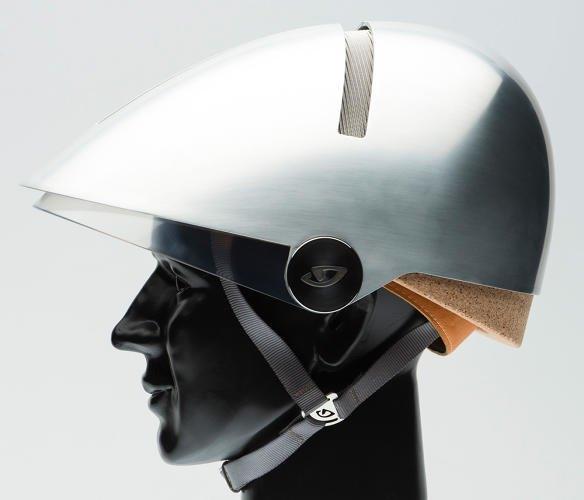 Дизайнер Филипп Старк создал экологичный шлем для велосипедистов. Изображение № 1.