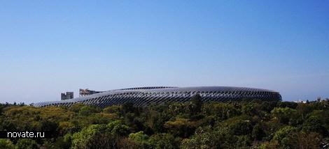 Стадион насолнечных батареях. Изображение № 4.
