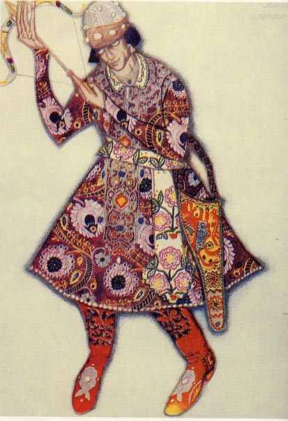 ЛевБакст – «арт нуво» втеатре. Изображение № 1.